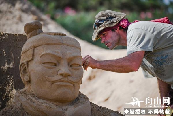 第二十届舟山国际沙雕节在朱家尖南沙开雕 提前至7月21日开园_旅游攻略,舟山旅游网山旅游攻略